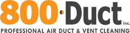 800 DUCT Logo